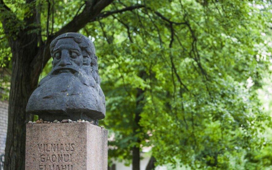 Vilniaus Gaono biustas