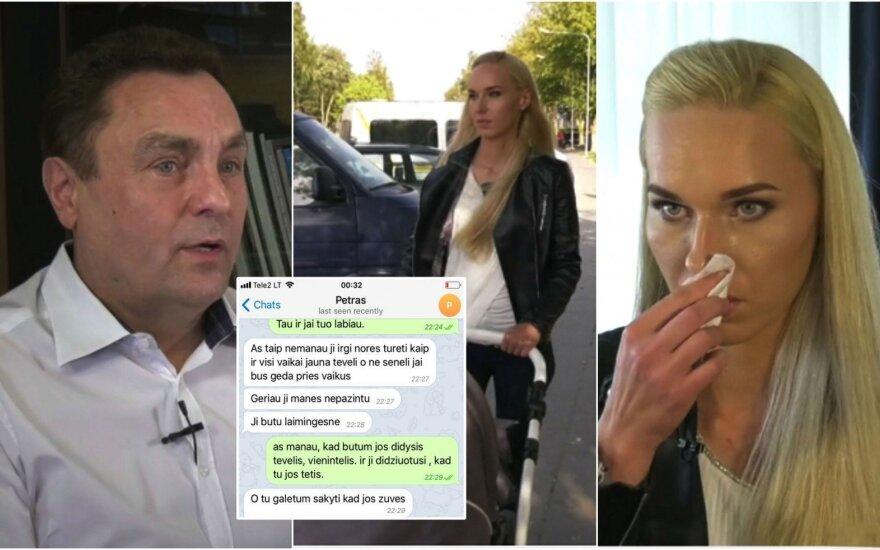 """Petras Gražulis ir Birutė Navickaitė TV3 laidoje """"Prieš Srovę"""""""