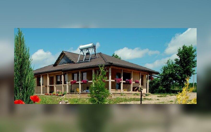 Šiaudinio namo statybos: šiaudinis namas