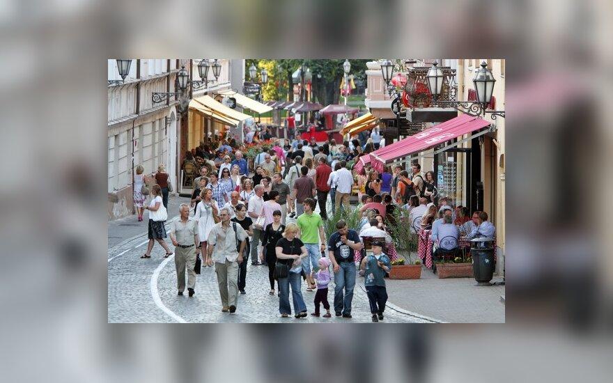 Vilniaus senamiesčio Pilies gatvė