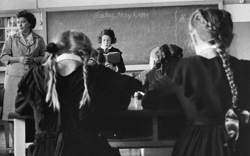 Mokykla sovietmečiu