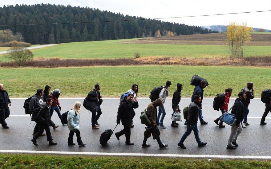 A. Rudomanskis. Pavyduoliai gali švęsti – pabėgėliai Lietuvoje skurs