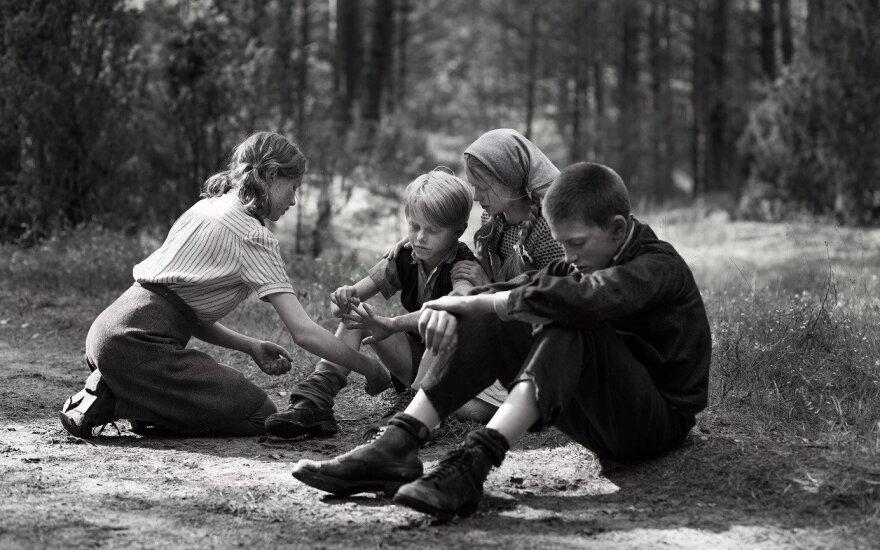 VIlko vaikai