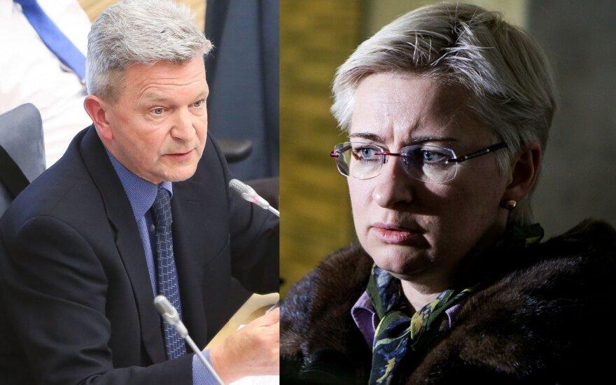 Vytautas Matulevičius, Neringa Venckienė
