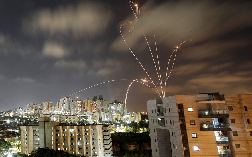 Pietų Izraelyje po šešių valandų pertraukos vėl įjungtos pavojaus sirenos