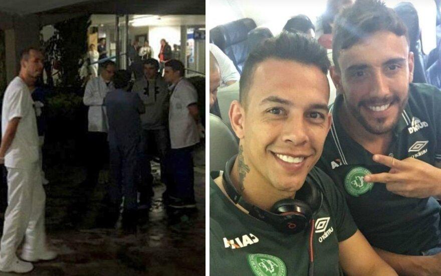 Pražūtinga įvykių seka: futbolo komanda turėjo skristi kitu lėktuvu, o pateko į košmarą