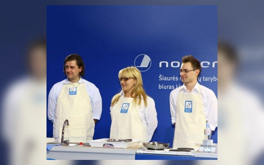 Konkurso nugalėtojai: R.Mačiulaitis, R.Šniolienė, E.Žaliukas