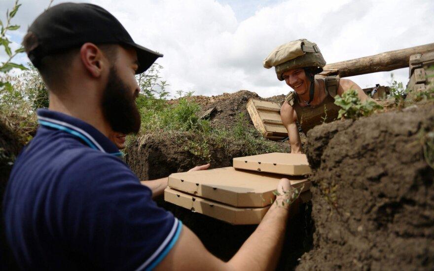 Pica fronto linijoje: Ukrainos karo veteranai maitina kareivius karštuosiuose taškuose