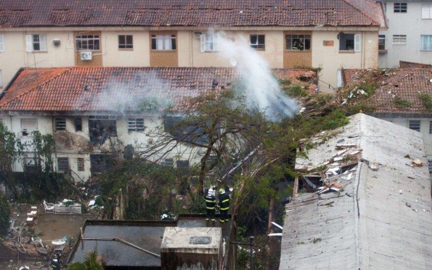 Brazilijoje lėktuvo katastrofoje žuvo kandidatas į Brazilijos prezidentus