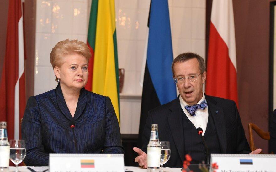 Dalia Grybauskaitė and Toomas Hendrik Ilves