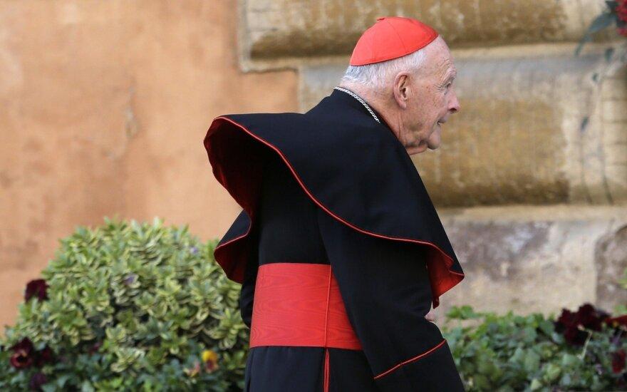 Kardinolas Theodore'as Edgaras McCarrickas iš JAV