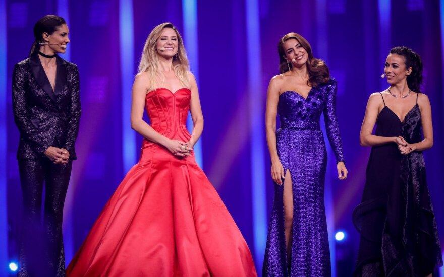 """Įvertink! Pirmojo pusfinalio """"Eurovizijos"""" dalyvių pasirodymai"""