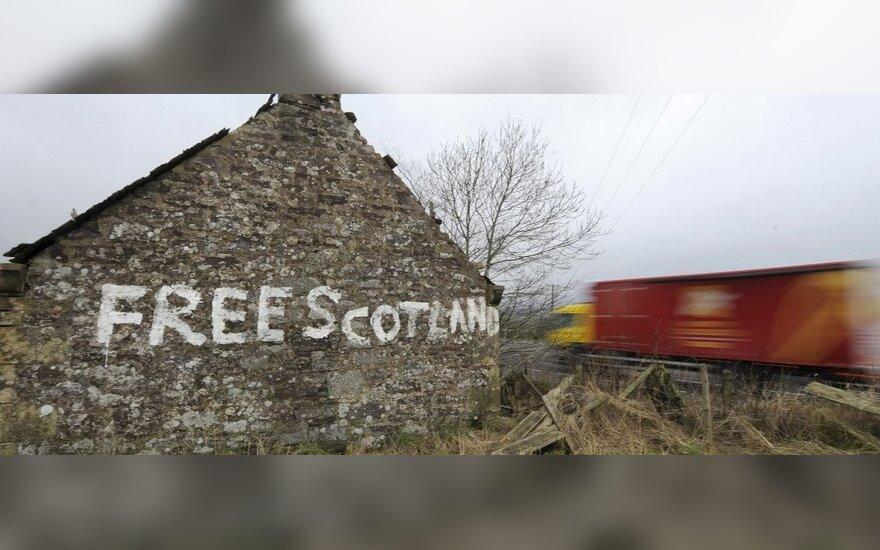 """Užrašas """"Išlaisvinkite Škotiją"""""""