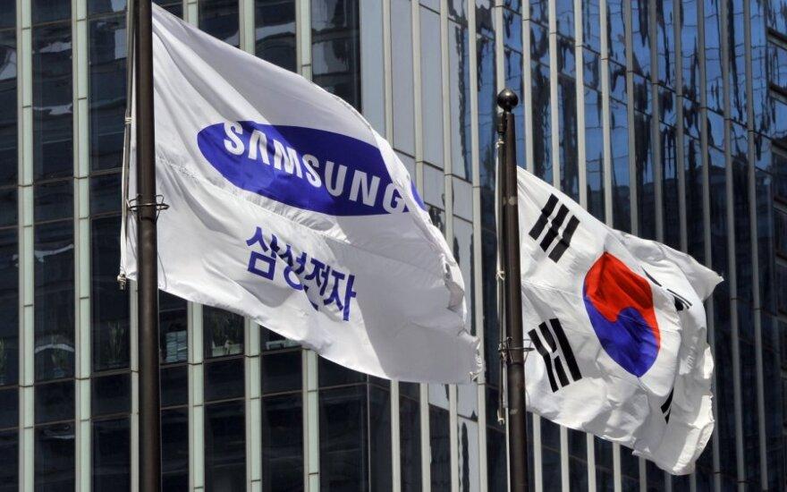 """""""Samsung"""" vėliava"""