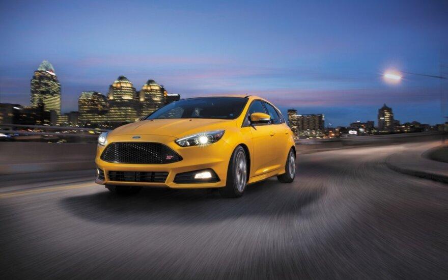 """Ford Focus ST"" (asociatyvi nuotr.)"