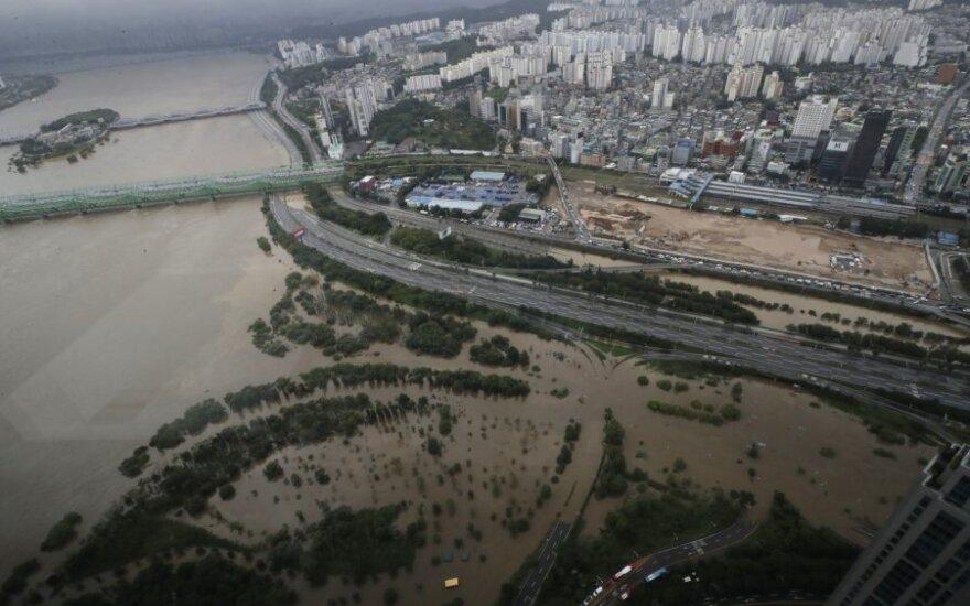 Potvynis Pietų Korėjoje