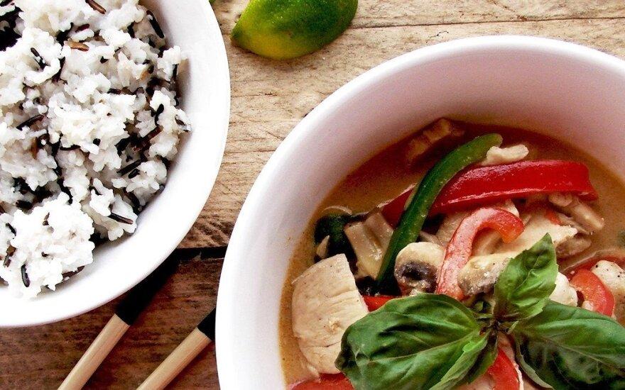 Egzotiška vakarienės idėja: tailandietiška vištiena