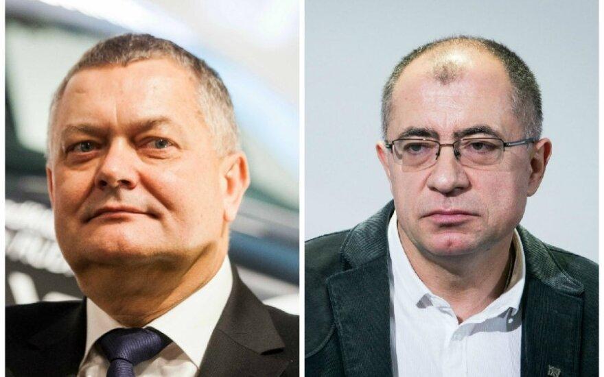 Romas Austinskas ir Gintaras Furmanavičius