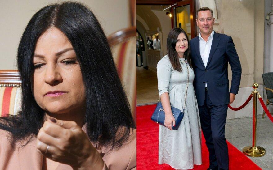 Agnė Zuokienė ir Artūras Zuokas / Foto: Delfi ir LNK