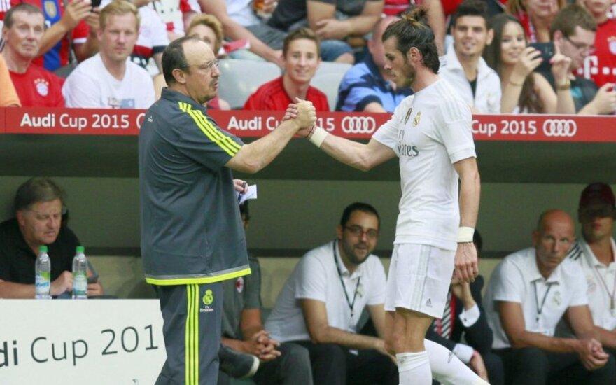 """Real"" prezidentas: R. Benitezui sekasi puikiai"