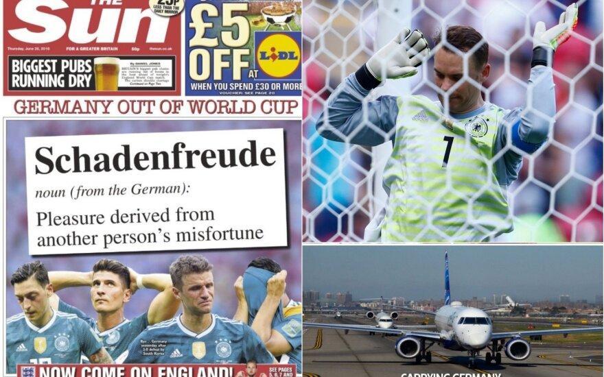 Vokietijos fiasko pradžiugino konkurentus