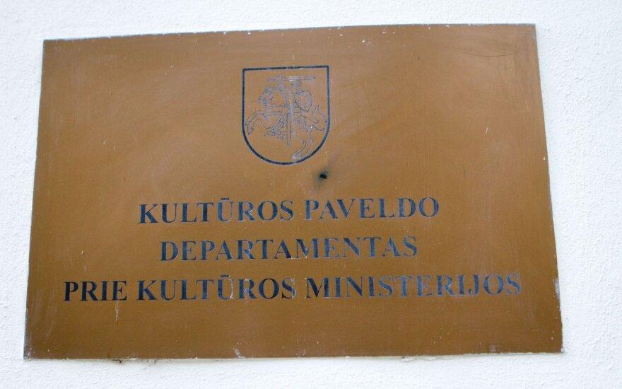 Kultūros paveldo departamento vadovo paieška kelia klausimų opozicijos atstovams