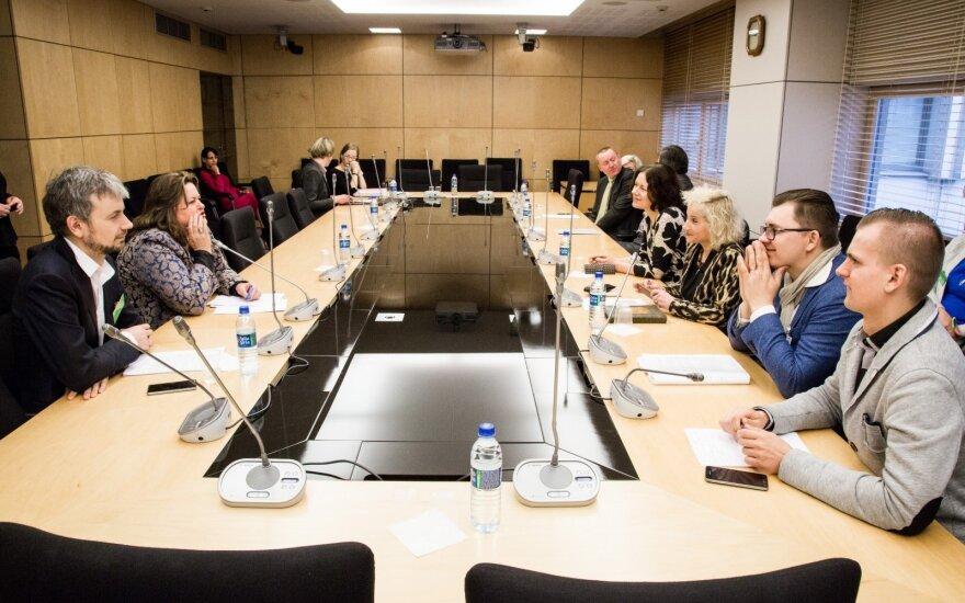 Žlugo planuotas LRT tyrimo komisijos posėdis Seime