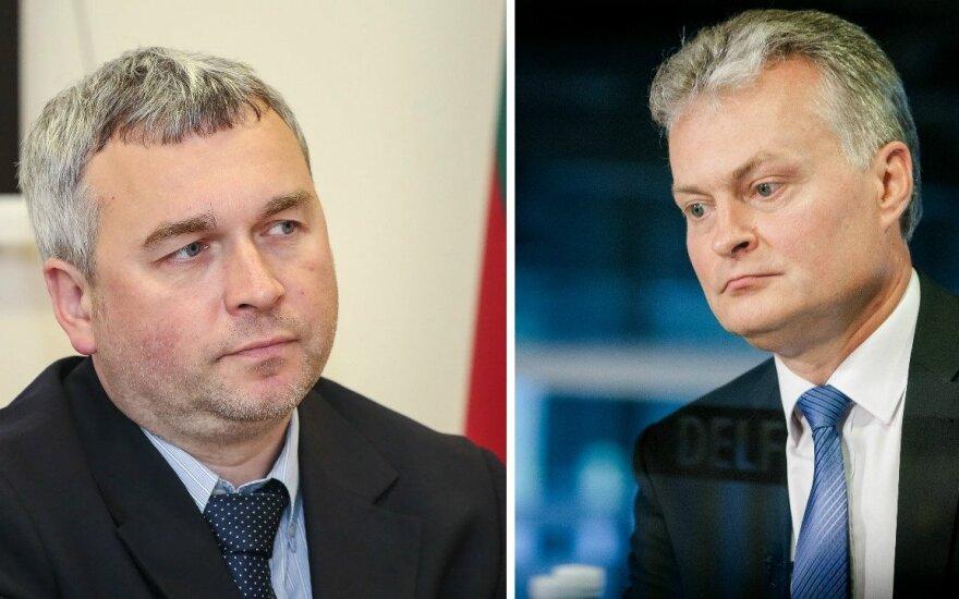 Raimondas Kuodis ir Gitanas Nausėda