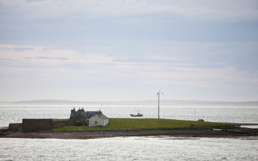 Mažosios vėjo jėgainės gelbėja tuos, kuriems atvesti elektros liniją nėra galimybės