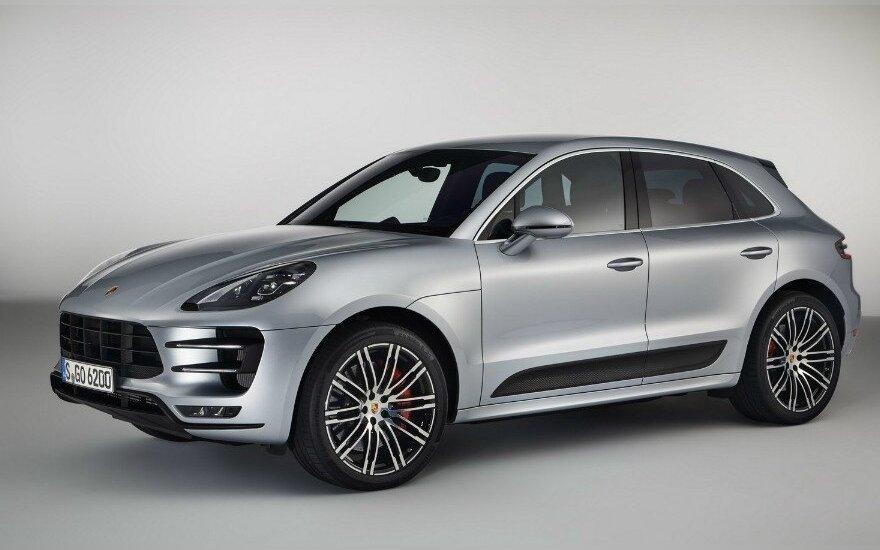 """Porsche Macan Turbo"""
