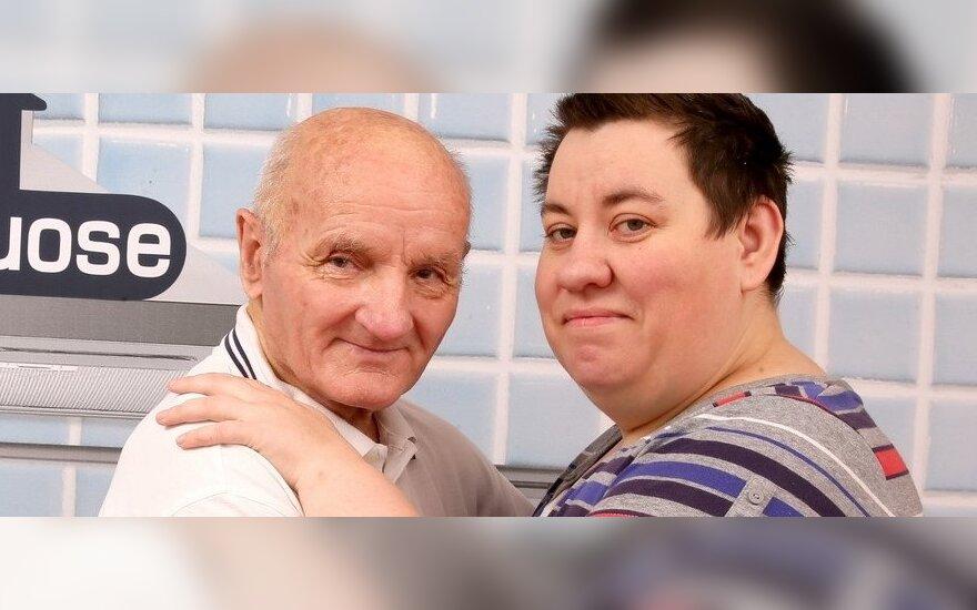 Vidas Antonovas su žmona Rima