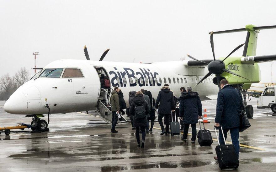 """Gaussas: """"airBaltic"""" gali žengti į biržą per artimiausius kelerius metus"""