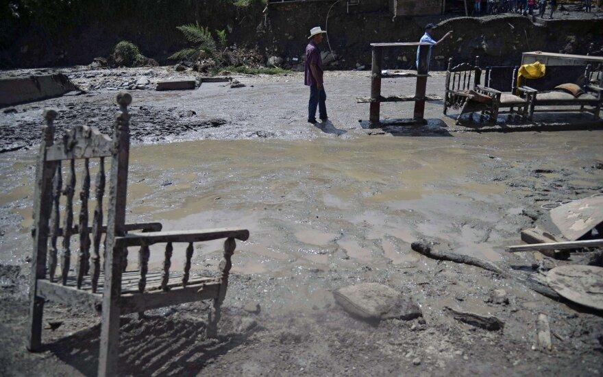 Žemės nuošliauža Kolumbijoje