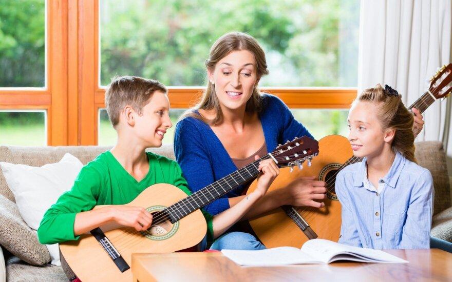 Naujo formato šeimų festivalis kvies atskleisti savo muzikinius talentus