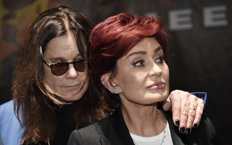 Ozzy Osbourne ir Sharon Osbourne