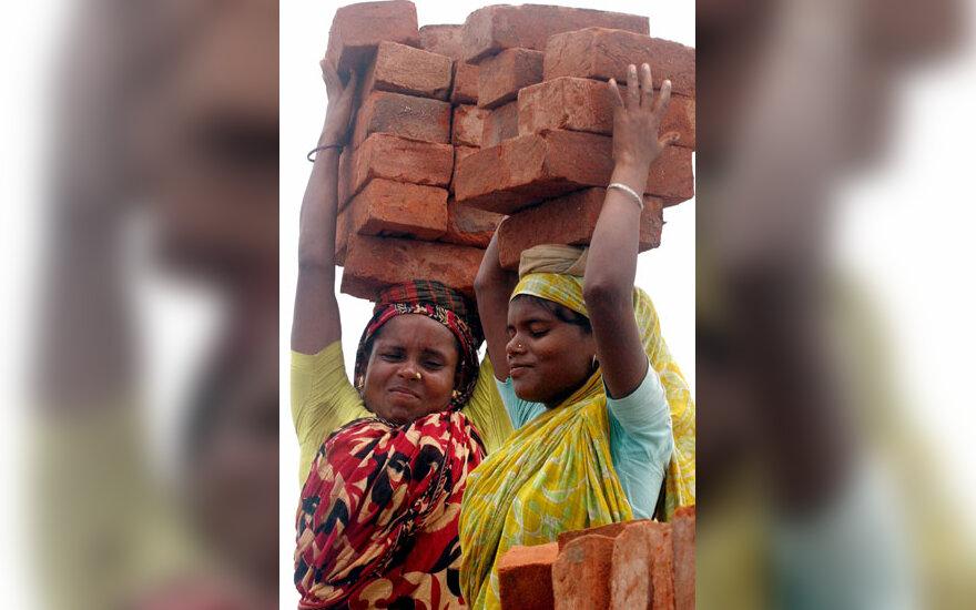Bangladešo moterų kasdienybė