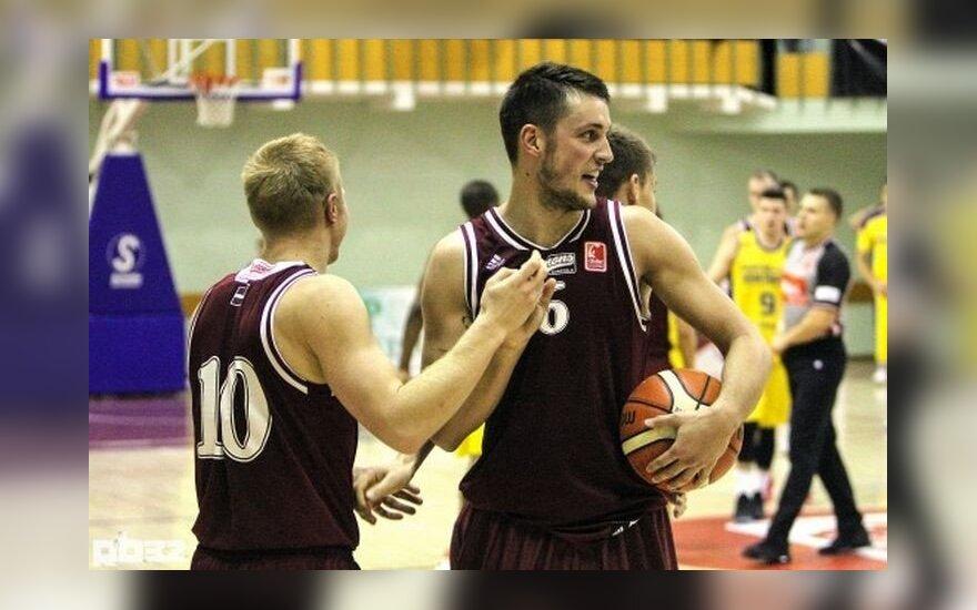 Lietuviai Rygos komandai pelnė 25 taškus