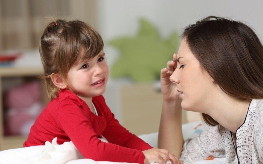 7 frazės, kurių niekada nesakykite savo vaikams