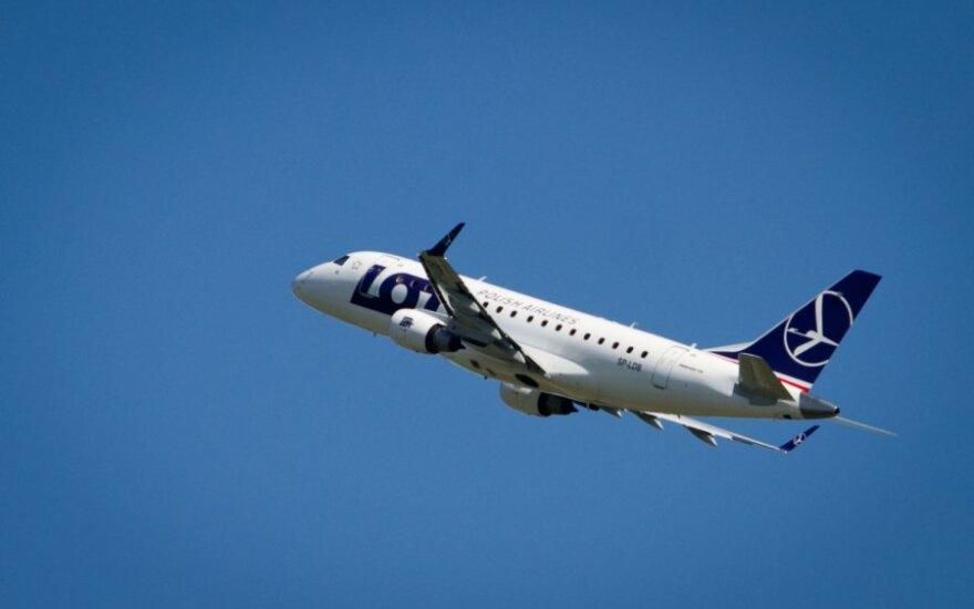 LOT atnaujina skrydžius iš Vilniaus į Londono Sitį