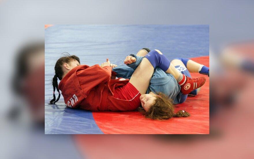 Europos jaunių ir jaunimo sambo čempionato akimirkos