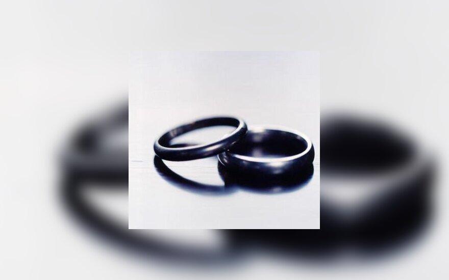Žiedas, vestuvės