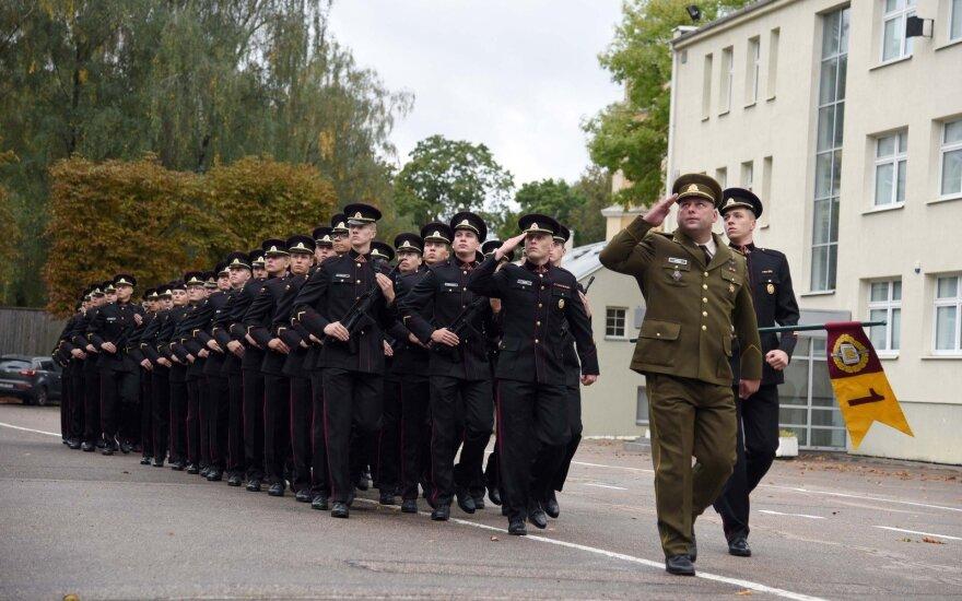 Prisiekė Karo akademijos kariūnai
