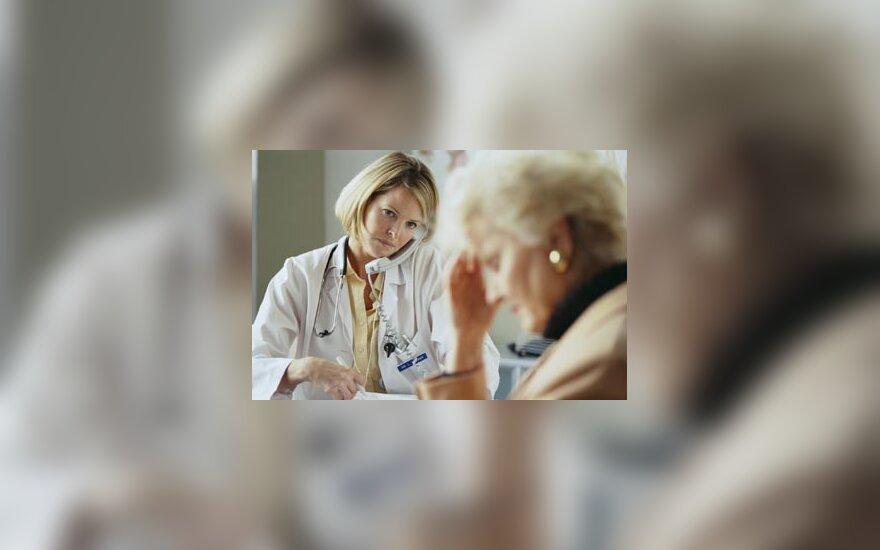 medicina, gydytojas, ligoninė, poliklinika, pacientas