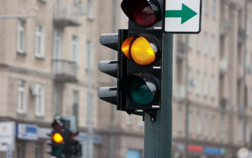 Žaliąsias šviesoforų rodykles – į Raudonąją knygą
