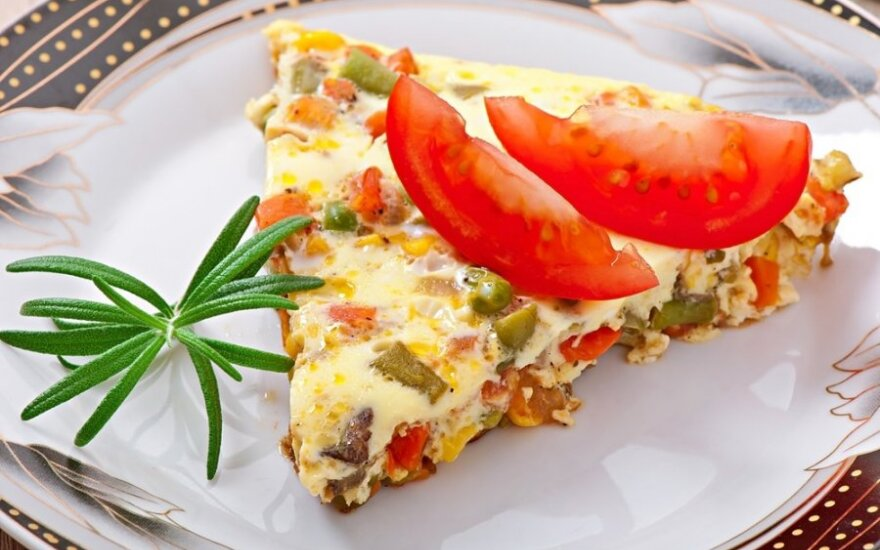 Margasis omletas