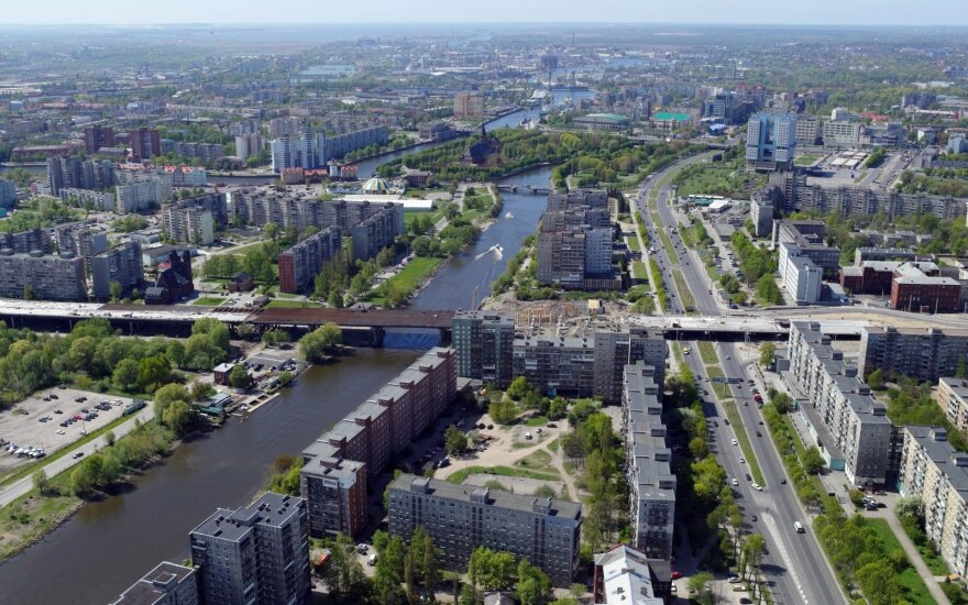 Kaliningrade kyla naujas statinys – Klaipėda turėtų sunerimti