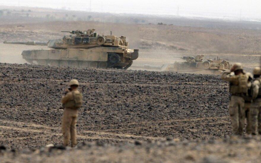 JAV kariai Saudo Arabijoje