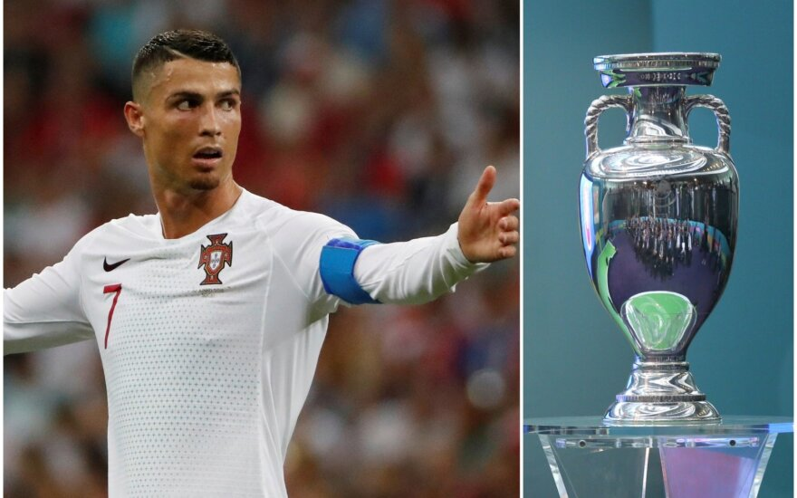 Cristiano Ronaldo, Europos čempionato taurė