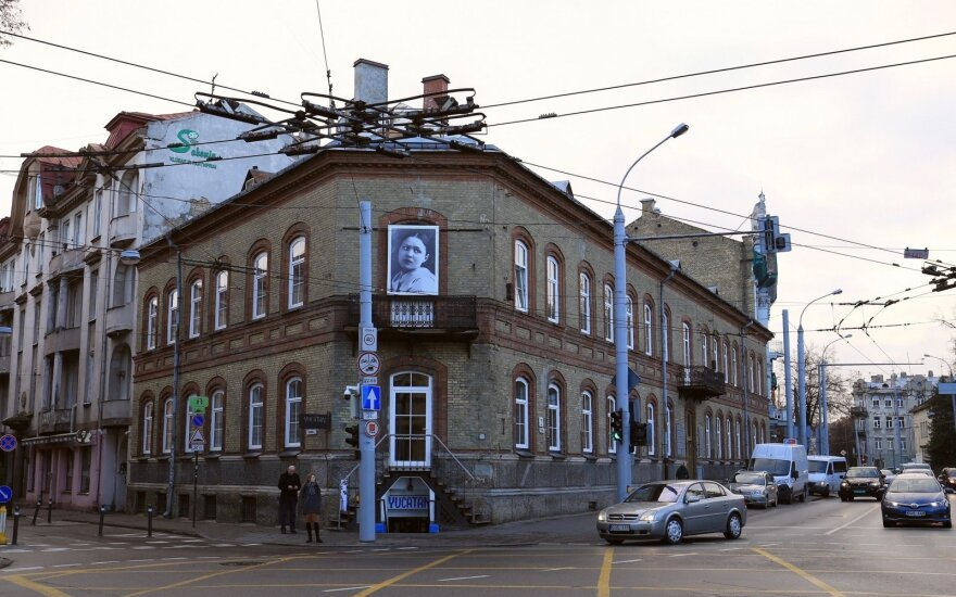 Vilniaus gatvės prabils Salomėjos Nėries eilėmis