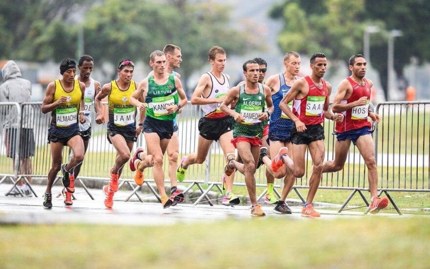 Olimpiados maratone triumfavo Kenijos atstovas, R. Kančys – 75-as